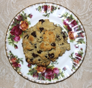 chocolate scone