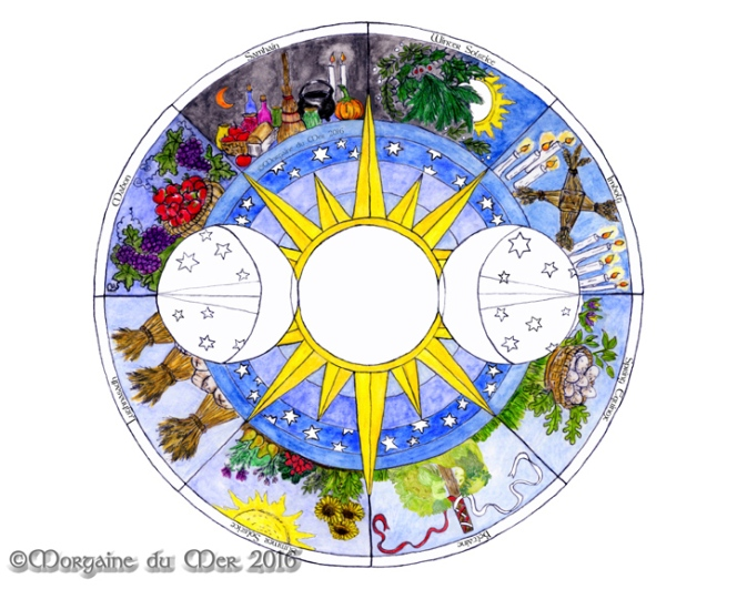 wheel-of-the-year-art-print