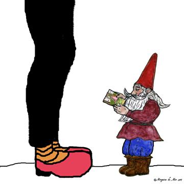 knee gnome