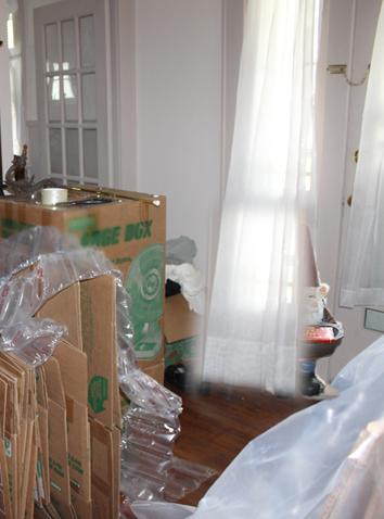 Henri behind the curtain