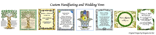 Handfasting Wedding samples