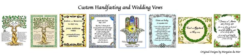 Handfasting Wedding samples