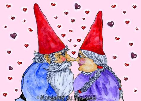 Gnomes Valentine w