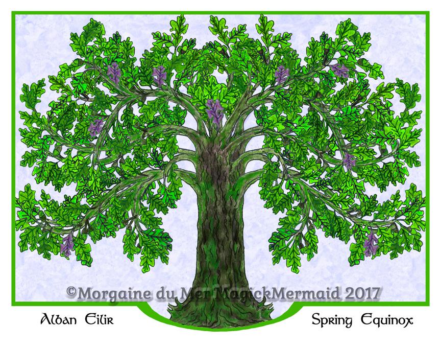 Magickal-Oak-Tree-Spring-Fine-Art-Print