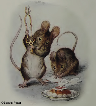 beatrix potter mice
