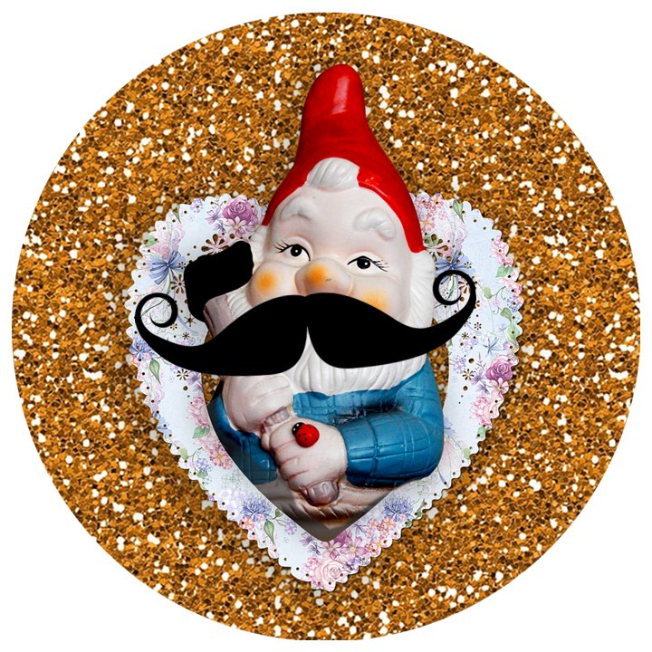 Movember Gnomevember be kitsch ig blog berlin garden gnome